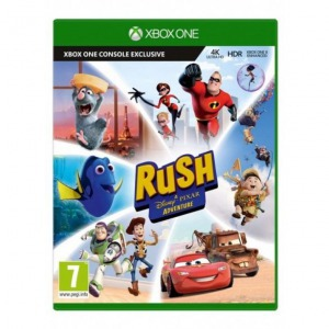 Xbox one pixar rush definitive edition