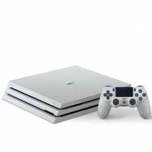 Playstation 4 Pro 1TB, Glacier White konzol - PS4 (PlayStation4) konzol